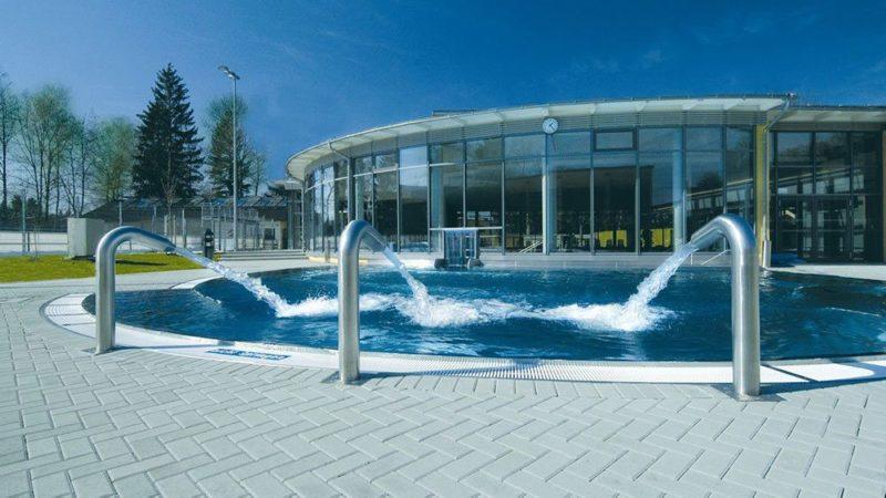 Умягчение воды бассейна в парке развлечений (Грюнвальд)